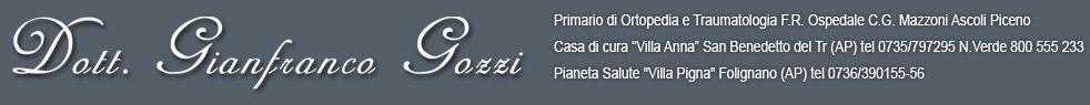 Dott. Gianfranco Gozzi